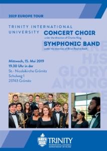 Konzert - Chor und Band der Trinity Universität Chicago @ St. Nicolaikirche Grömitz
